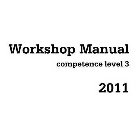 Deutz 2011 Engine Workshop Service Repair Manual - Competence Level 3