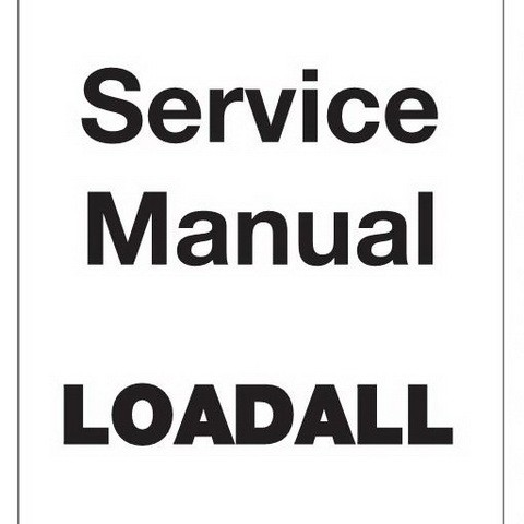 JCB 520, 526 Loadall Repair Service Manual - Digital Files Mart
