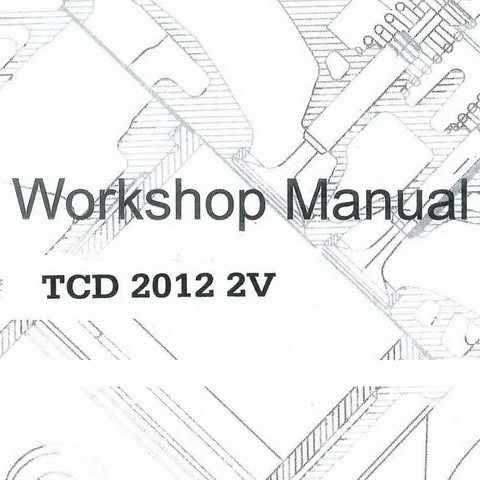 Deutz TCD 2012 2V Diesel Engine Workshop Service Repair Manual