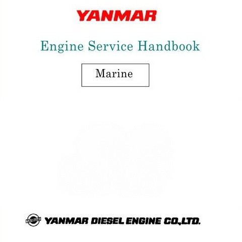 Yanmar LH, LY, LP, CX Power Boat Engine Service Hand Book