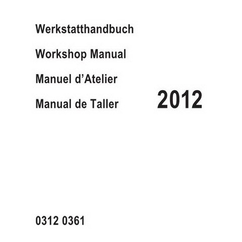 Deutz BFM 2012 Engine Workshop Service Repair Manual