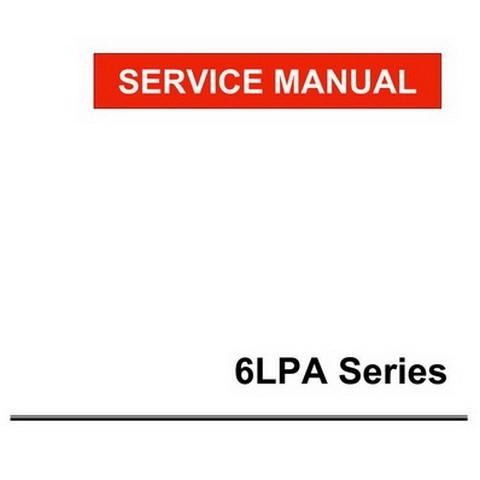 Yanmar 6LPA Series Marine Diesel Engine Repair Service Manual