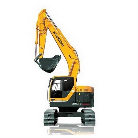 Hyundai Robex 235LCR-9 / R235LCR-9 Crawler Excavator Repair Service Manual