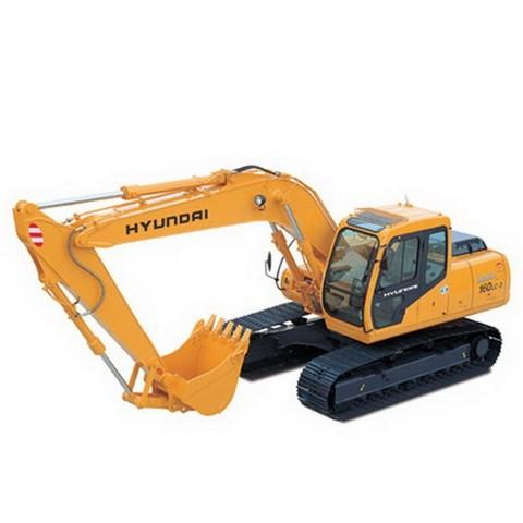 Hyundai Robex 160LC-7 / R160LC-7 Crawler Excavator Repair Service Manual