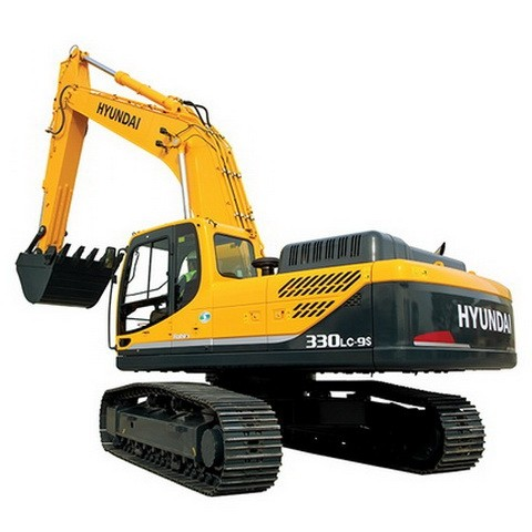 Hyundai Robex 330LC-9S / R330LC-9S Crawler Excavator Repair Service Manual