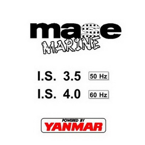Yanmar Mase Marine I.S. 3.5 (50 Hz), I.S. 4.0 (60 Hz) Generators Workshop Repair Service Manual