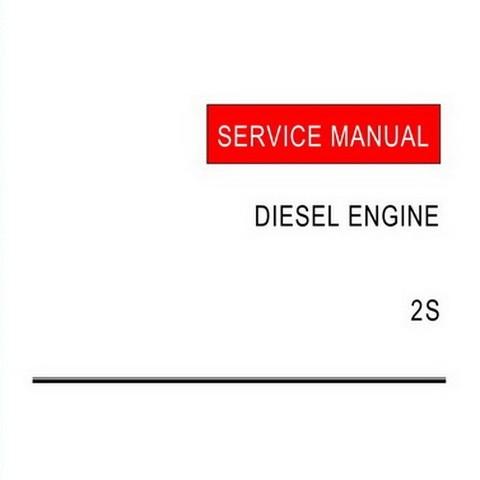 Yanmar 2S Model Diesel Engine Repair Service Manual