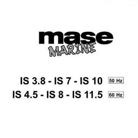 Yanmar Mase Marine IS 3.8 - 11.5 Generators Repair Service Manual