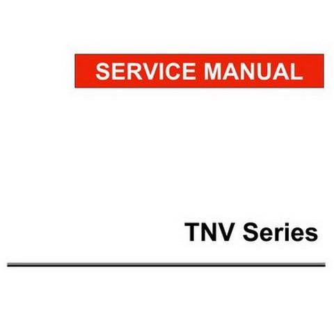 Yanmar TNV Series Direct Injection Engines Repair Service Manual