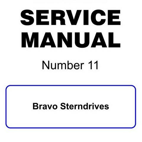 Mercury Marine MerCruiser Service Manual #11 Bravo Ste
