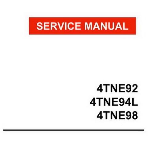 Yanmar Tne Series Industrial Diesel Engine Service Repair Workshop Ma