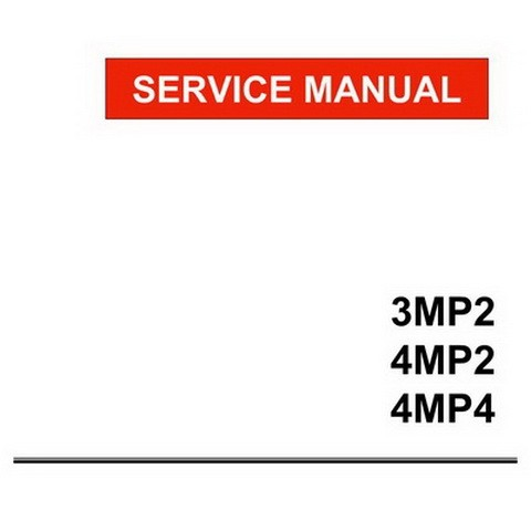 Yanmar MP Series Industrial Diesel Engine Repair Service Manual