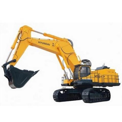 Hyundai Robex 1200-9 / R1200-9 Crawler Excavator Repair Service Manual