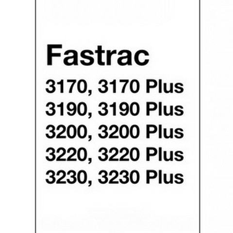 JCB 3170, 3170 Plus, 3190, 3190 Plus, 3220, 3220 Plus Fastrac Tractor Repair Service Manual