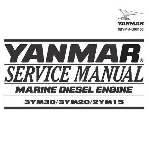 Yanmar 3YM Series Marine Diesel Engine Repair Service Manual