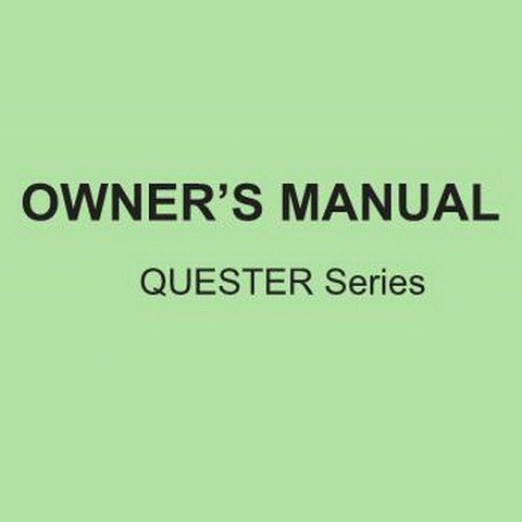 UD Trucks QUESTER Series Owner's Manual