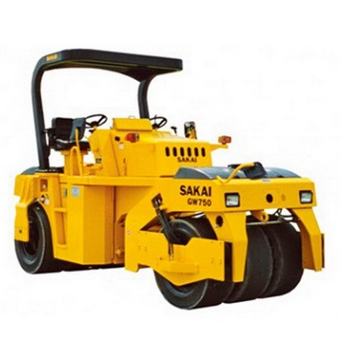 SAKAI GW750 Vibrating Roller Repair Service Manual