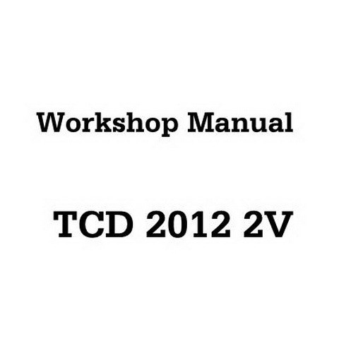 Deutz TCD 2012 2V Engine Workshop Service Repair Manual