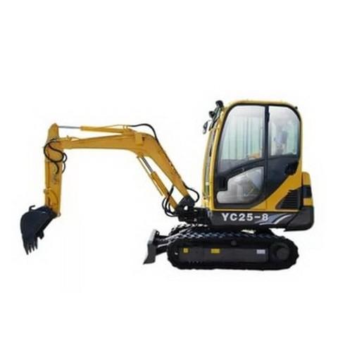 YUCHAI YC25-8 Hydraulic Excavator Operator's Manual