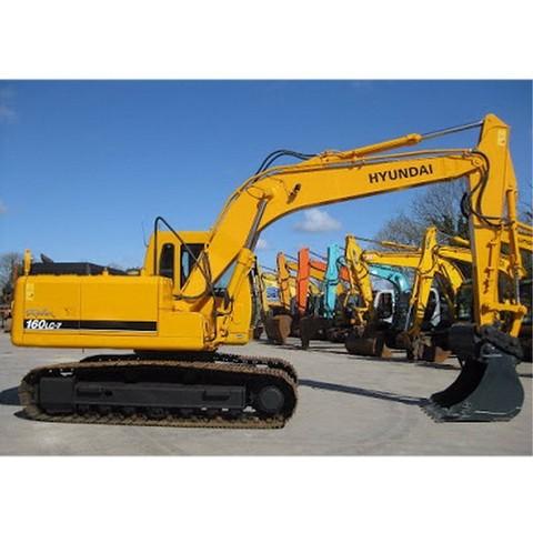 Hyundai Robex 160LC-7 / R160LC-7 Crawler Excavator Operation & Maintenance Manual