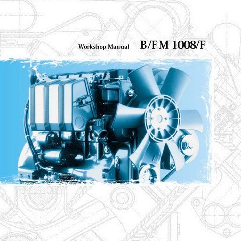 Deutz B/FM 1008/F Engine Workshop Service Repair Manual