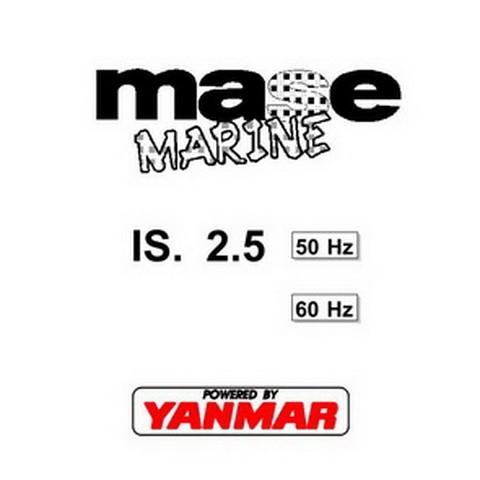 Yanmar Mase Marine IS. 2.5 Generators Workshop Repair Service Manual