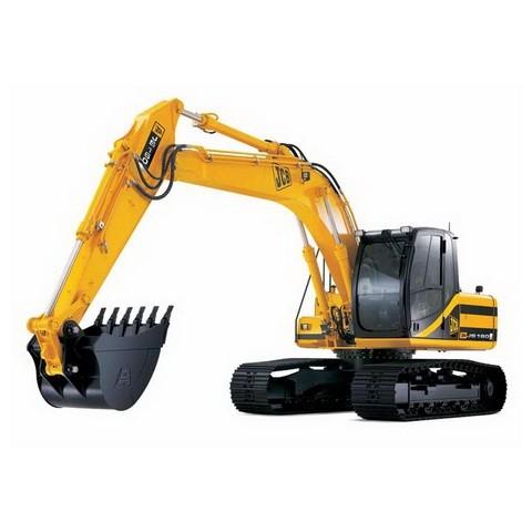 JCB JS115, JS130, JS130LC, JS145, JS160, JS180 Tracked Excavator Repair Service Manual