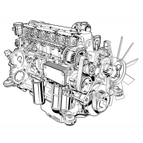 Deutz TCD 2012 / 2013 L04/06 V2 Engine Operation Manual