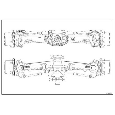 CARRARO FRONT AXLE CA149434 FOR DEUTZ-FAHR AGROTRON 210-265 Repair Manual