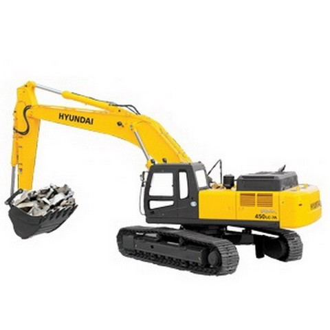 Hyundai R450LC-7A, R500LC-7A Crawler Excavator Repair Service Manual