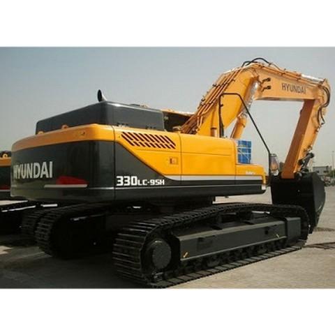 Hyundai Robex 330LC-9SH / R330LC-9SH Crawler Excavator Repair Service Manual