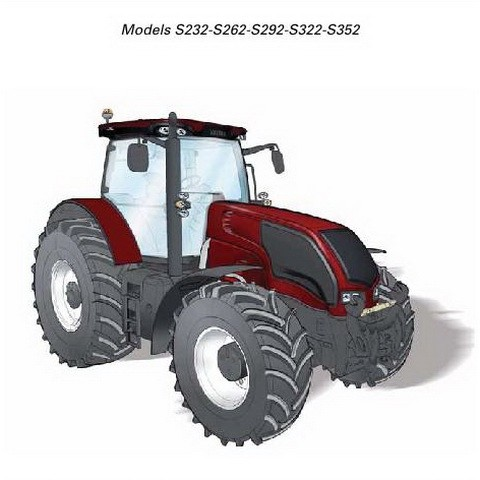 Valtra S Tractor Series Operator's Manual