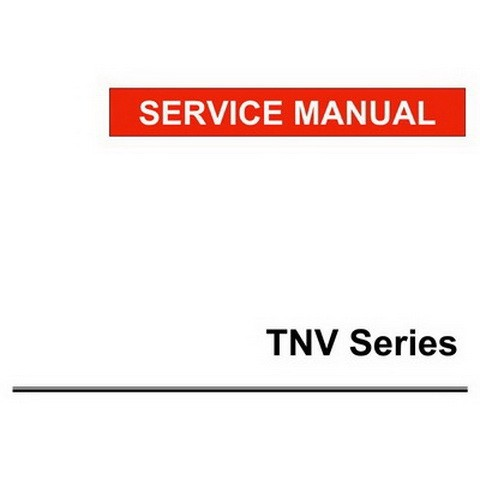 Yanmar TNV Series Indirect Injection Engines Repair Service Manual