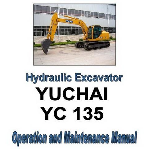 YUCHAI YC35-7 Hydraulic Excavator Operation & Maintenance Manual
