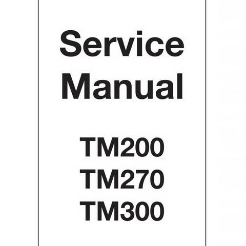 JCB TM200, TM270, TM300 Agricultural Loader Repair Service Manual