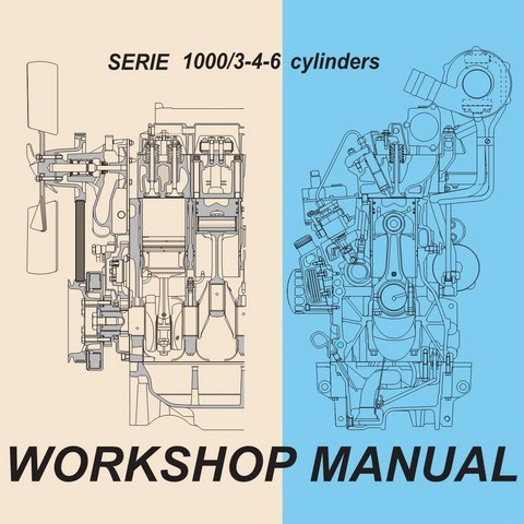 Deutz EURO 2 SERIE 1000/3-4-6 cylinders Engine Workshop Service Repair Manual
