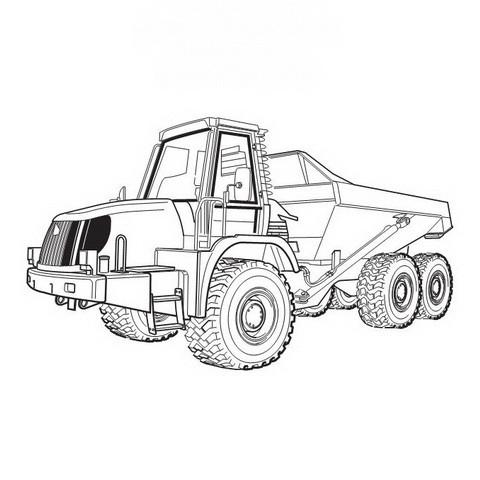 JCB 722 Articulated Dump Truck Repair Service Manual
