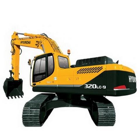 Hyundai Robex 320LC-9 / R320LC-9 Crawler Excavator Repair Service Manual