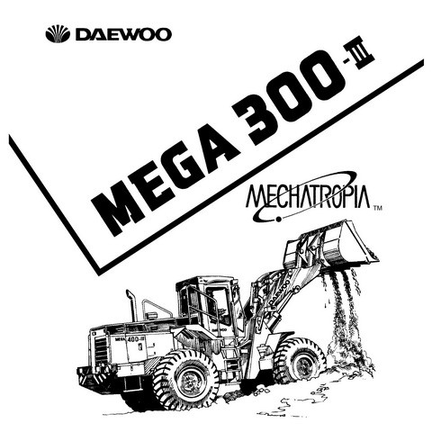 Daewoo M300-III Wheel Loader Service Repair Shop Manua