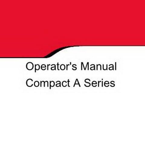Valtra Compact A Series Tractors Operator's Manual