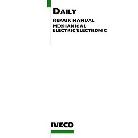Iveco Daily Van Workshop Service Repair Manual (2000-2006)