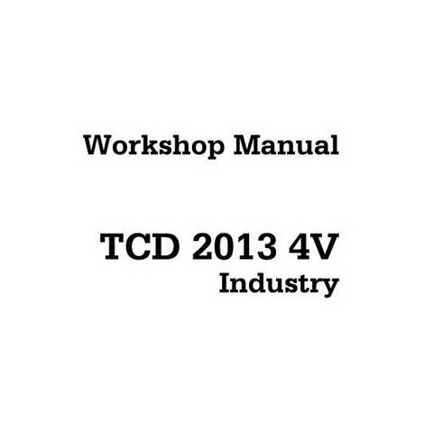 DEUTZ TCD 2013 4V Industry Engine Service Repair Workshop Manual