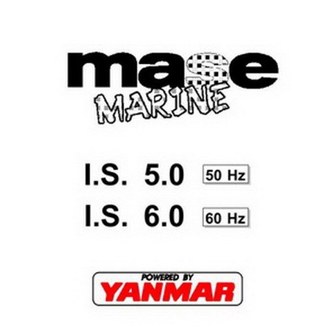 Yanmar Mase Marine IS 5.0, IS 6.0 Generators Workshop Repair Service Manual