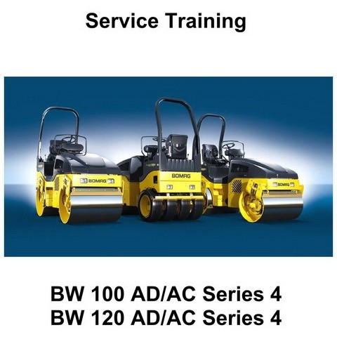 Bomag BW 100 AD/AC & BW 120 AD/AC Series 4 Rollers Service Training