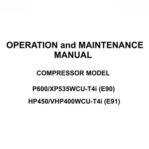 Doosan Portable Power Operation and Maintenance Manual