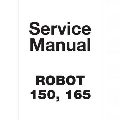 JCB Robot 150, 165 Skid Steer Loader Repair Service Manual