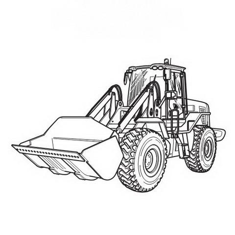 JCB 412S, 414S, 416S Wheeled Loading Shovel Repair Service Manual