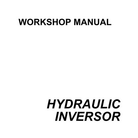 SAME DEUTZ-FAHR HYDRAULIC INVERSOR 110-130 HP Service Repair Workshop Manual