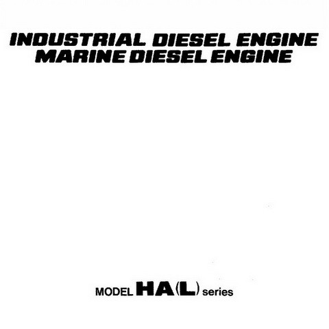 Yanmar Ha L Series Diesel Engine Repair Service Manua Digital Files Mart