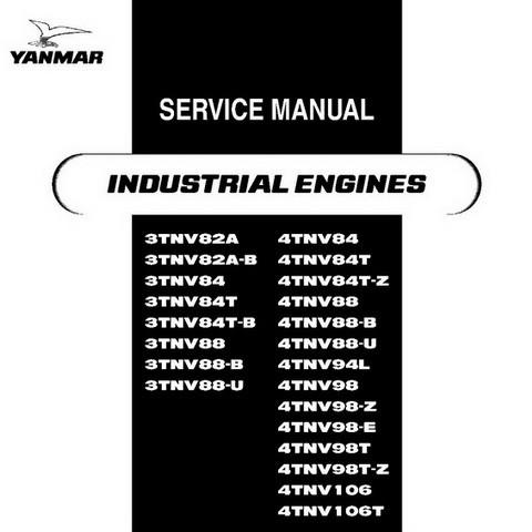 Yanmar Tnv Series Direct Injection Engines Repair Serv Digital Files Mart
